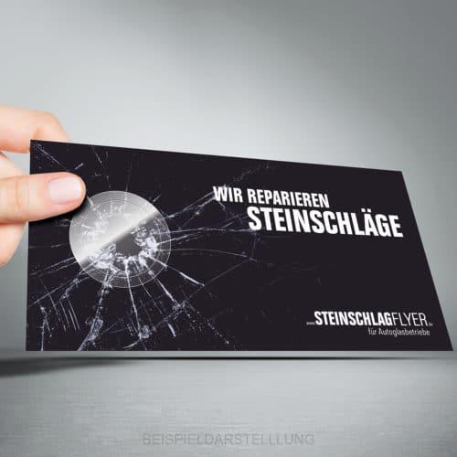 Steinschlagflyer - DIN lang