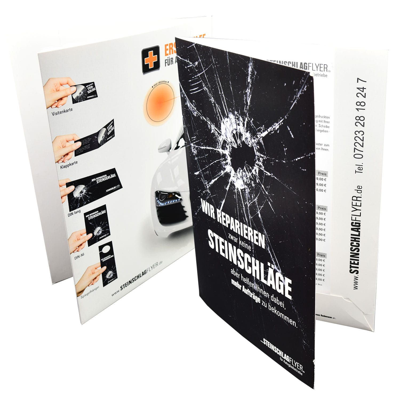 Steinschlagflyer.de Mustermappe